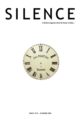 The lifestyle magazine about the beauty of delay